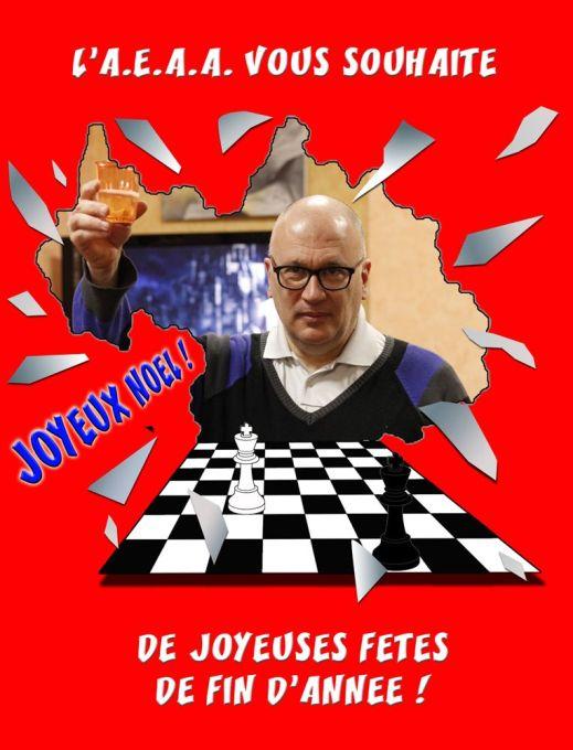 Aix échecs joyeux Noël
